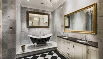 Секреты оформления ванной в стиле классика: подбираем мебель