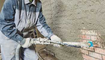 Механизированная штукатурка стен: плюсы и минусы