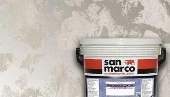 Штукатурка San Marco: виды и варианты применения