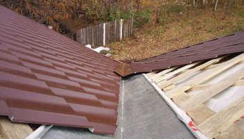 Ендова крыши: что это такое, устройство и монтаж