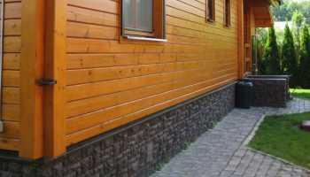 Отделка цоколя частного дома: правила выбора материалов