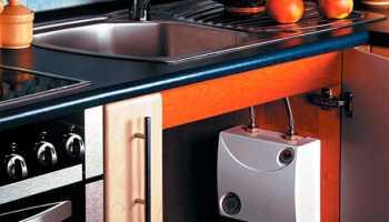Рекомендации по подбору водонагревателя под мойку