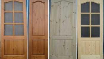 Двери из массива сосны: особенности выбора