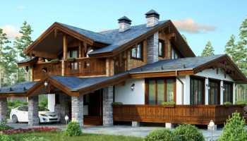 Фантазии в стиле шале: традиционные и современные формы крыши
