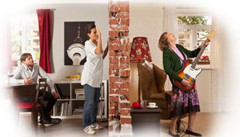 Современные звукоизоляционные материалы для домов и квартир