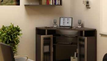 Выбираем угловой стол для ноутбука